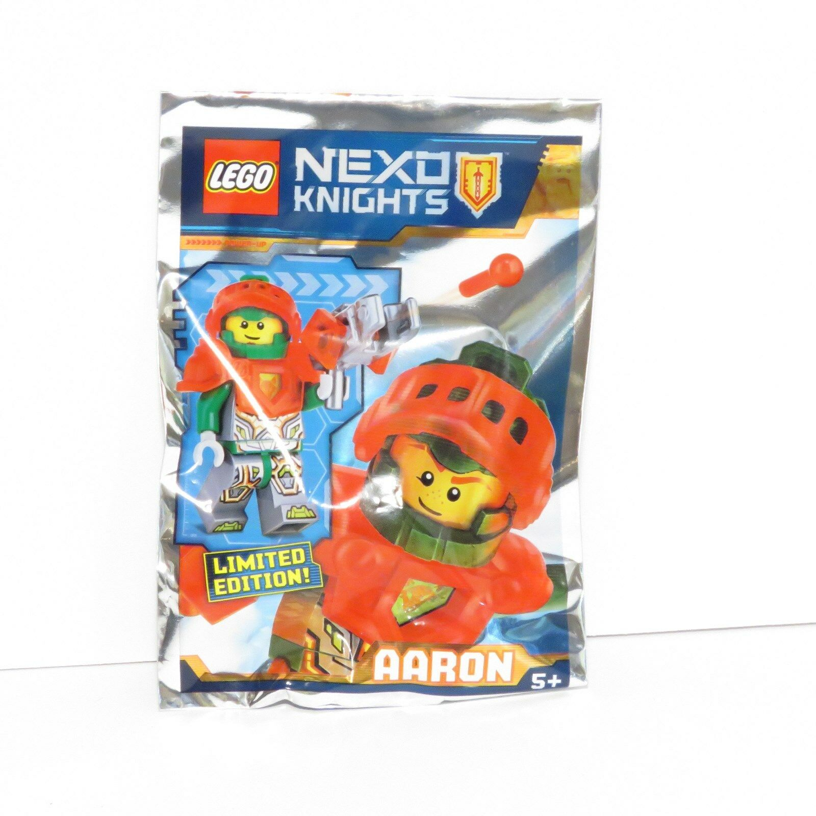 Lego Nexo Knights Trading Cards Series 2-le2-powerful Aaron-Limited