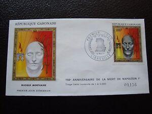 Jour 12/5/1971 Umschlag 1 Gabun Briefmarke b1