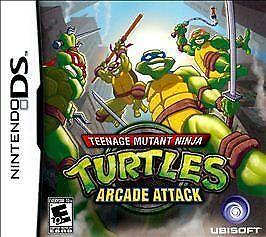 USED-Teenage-Mutant-Ninja-Turtles-Arcade-Attack-Nintendo-DS-Cartridge-Only