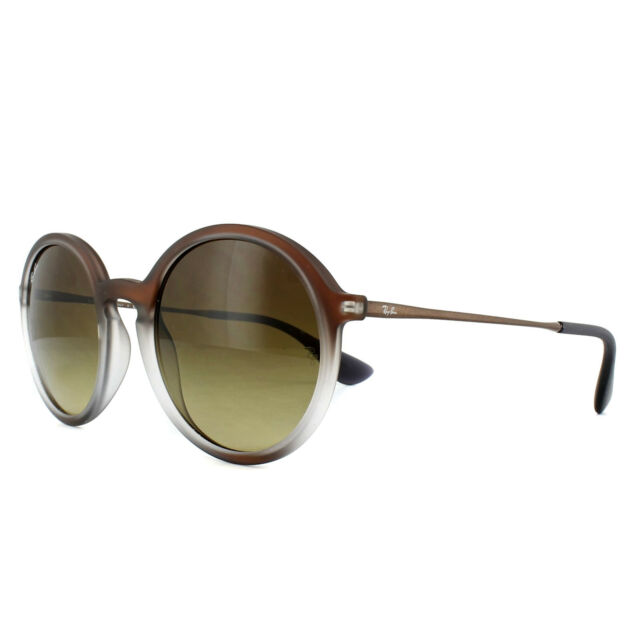 f83a25c4da1 Sunglasses Ray-Ban Youngster Rb4222 6224 13 50 Brown Shot on Black ...