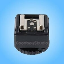 C-N2 Hot Shoe Converter Adapter w/ PC Sync Port for Nikon Flash to Canon Camera