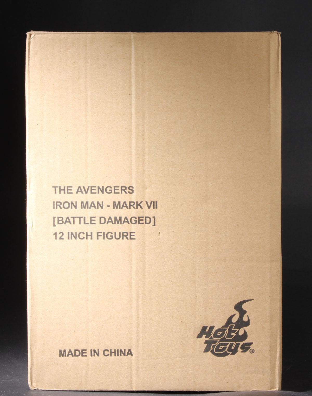 Hot Toys Avengers Batalla Dañado Iron Man Mark VII 7 Película Promo Versión 1/6