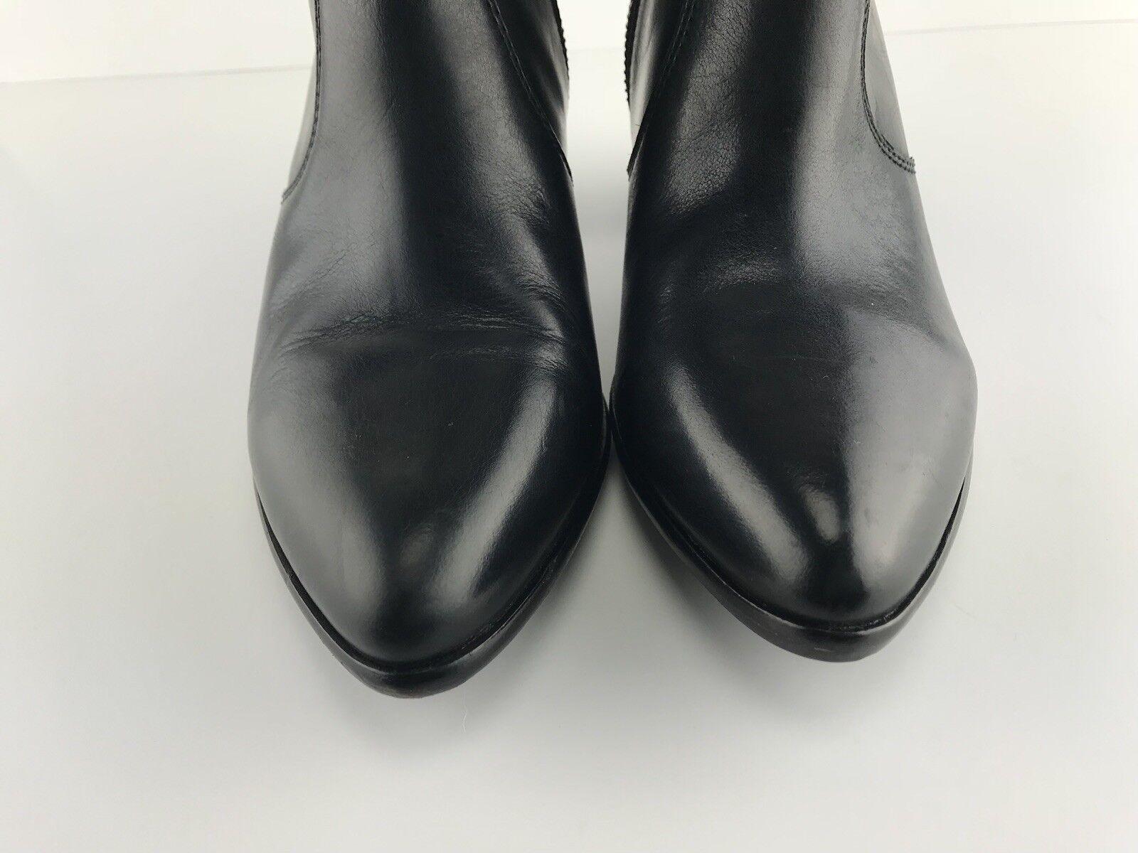 EUC Womens Frye Frye Frye Jennifer Black Leather Ankle Boots Size 9M 68c134