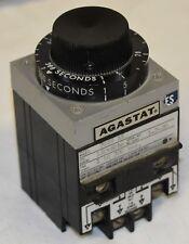 1-300SECONDS TIME DELAY AGASTAT 7022AK Relay 60HZ 120VAC