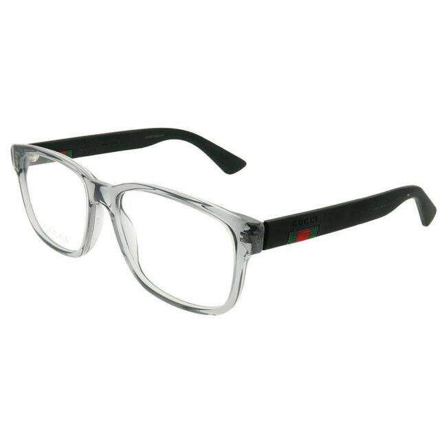 125aa45e2c Gucci Urban GG 0011o Eyeglasses 007 Grey 100 Authentic for sale ...