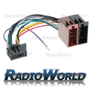 Pioneer-Car-Stereo-Radio-ISO-Lead-Wiring-Harness-Connector-Adaptor-Cable-Loom