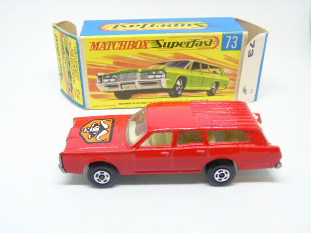 Matchbox Superfast 73a Mercury Commuter in original box by Bowater