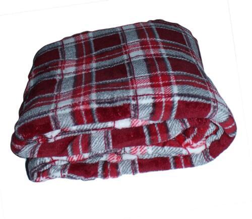 Luxury Soft Cozy Christmas Holiday Pattern Throw Soft Fleece Blanket