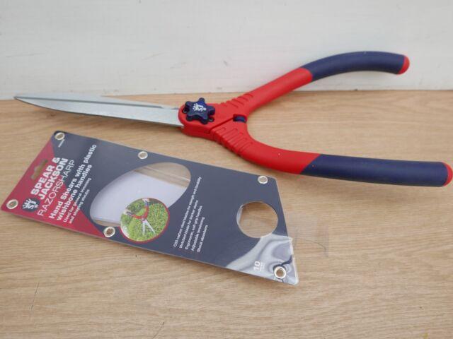 Spear Jackson Razorsharp Geared Hedge Shears Hardened Carbon Steel Blades