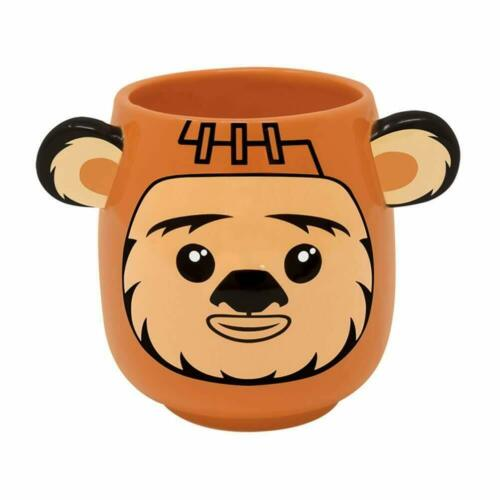 OFFICIAL STAR WARS EWOK SCULPTED 3D COFFEE MUG CUP NEW IN GIFT BOX