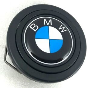 BMW logo steering wheel horn push button. Fits Momo Sparco OMP Italvolanti etc