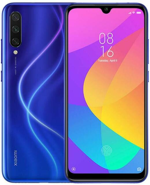 SMARTPHONE XIAOMI  Mi 9 Lite Dual SIM 128GB 6GB RAM Blu Blue Global VersBANDA 20