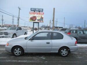 2002 Hyundai Accent 3dr HB Cpe GS