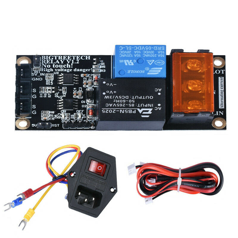 BIGTREETECH Relay V1.2 Automatic Shut Down Module 10A 250V Power Switch For CR10