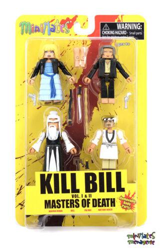 Kill Bill Minimates Masters of Death Box Set