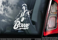 David Bowie - Car Window Sticker - Glam Rock Music Sign Ziggy Stardust - TYP1