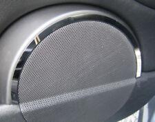 (Qk)Chrom Lautsprecherringe vorne BMW E46 COUPE CABRIO