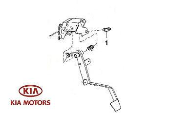 Genuine Kia Sorento 2003-2007 Clutch Pedal Switch KLA0166490