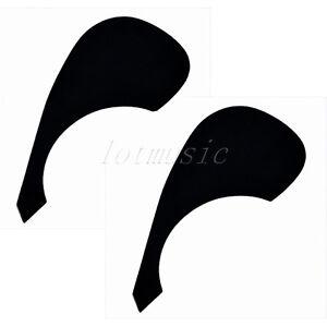 2-Acoustic-Guitar-Scratch-Plates-Pickguard-For-Yamaha-Guitar-Replacement-Black