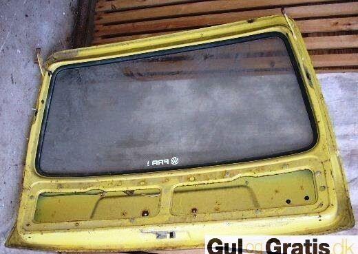 Bagklap, VW 411 E Variant.