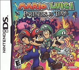 Mario-amp-Luigi-Partners-in-Time-Original-Box-amp-Manuals-ONLY-Nintendo-DS-2005