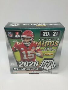 2020-Panini-Mosaic-Football-NFL-Mega-Box-Walmart-Exclusive-New-Factory-Sealed