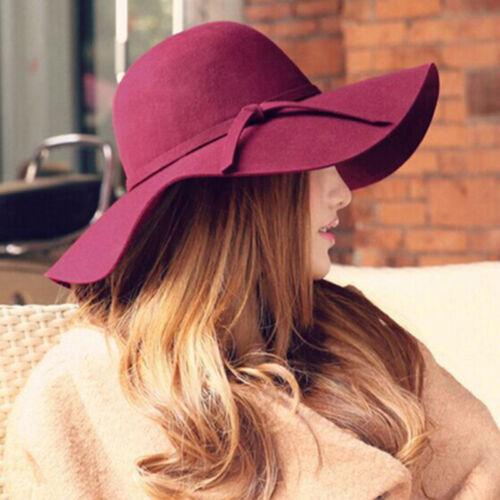 Fashion chapeaux pour les femmes d/'été Large Bord Femme Fedora Chapeau Soleil Caps Extérieur Nouveau