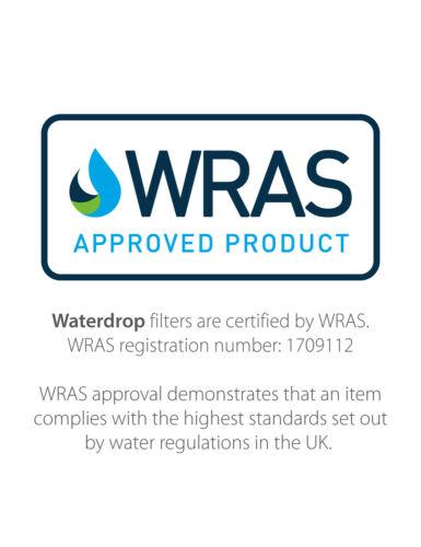 4 x Waterdrop Filtro Frigo Ricambio per Whirlpool 4396508,SBS002,S20BRS