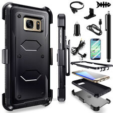 for Samsung Galaxy Note 5 Hybrid Shockproof Rugged Hard Case Cover Clip Holster