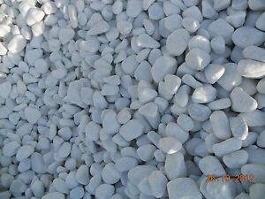 Ciottoli bianchi marmo carrara sacco 25 kg set di 6 sacchi for Ciottoli bianchi