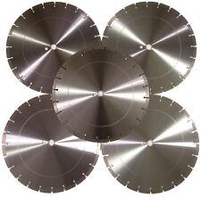 "5PK-16"" Concrete Brick Block Paver LimestoneTile Asphalt Diamond Saw Blade-BEST"