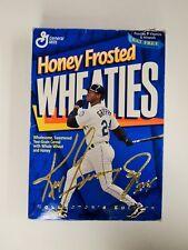 1996 Mariners Ken Griffey Jr Wheaties Cereal Box