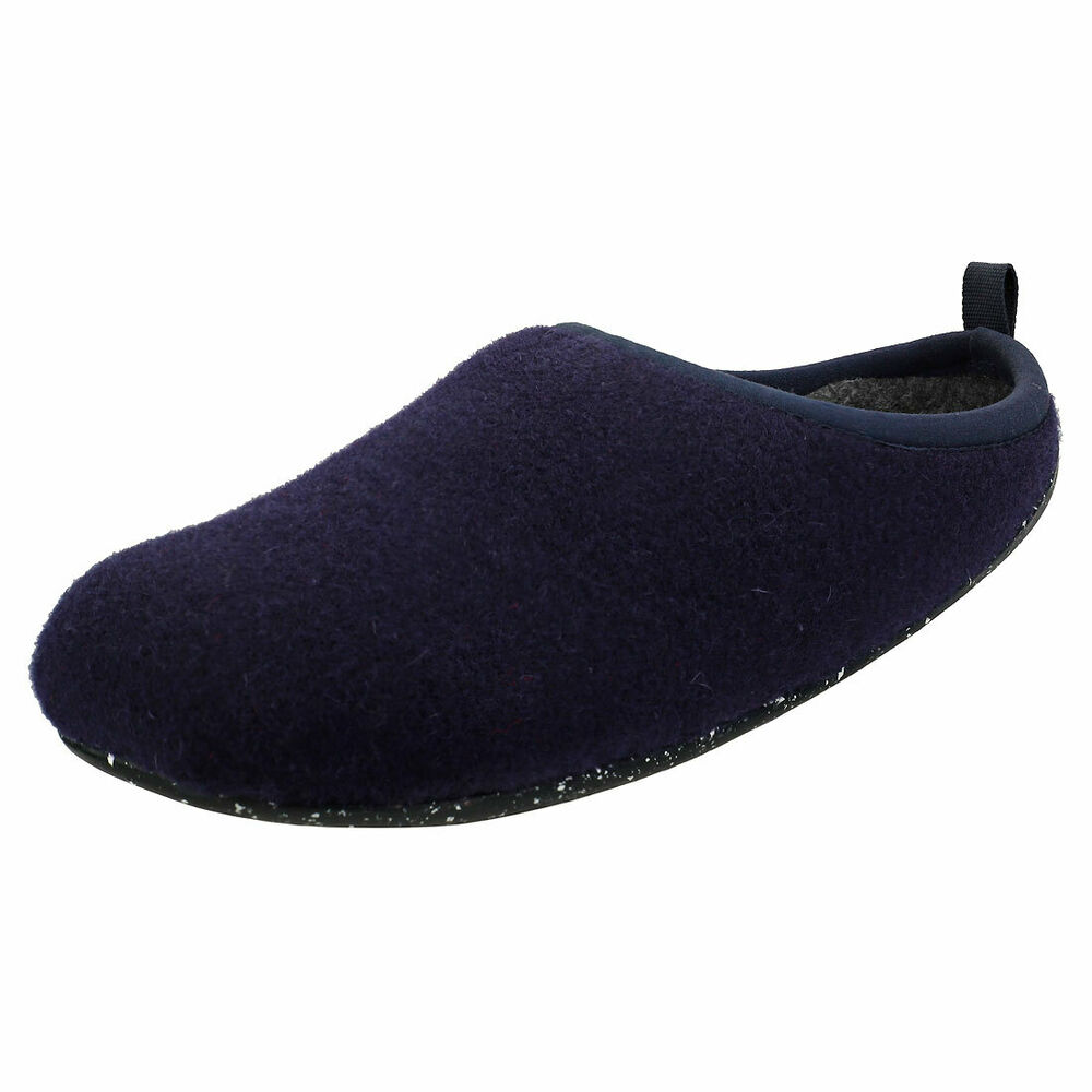 Camper Wabi Homme Bleu Laine Chaussons Chaussures