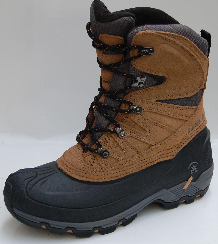 KAMIK Nordicpass tan Canadian Boots -50°C waterproof Gr. 7 / 39,5 / 24cm