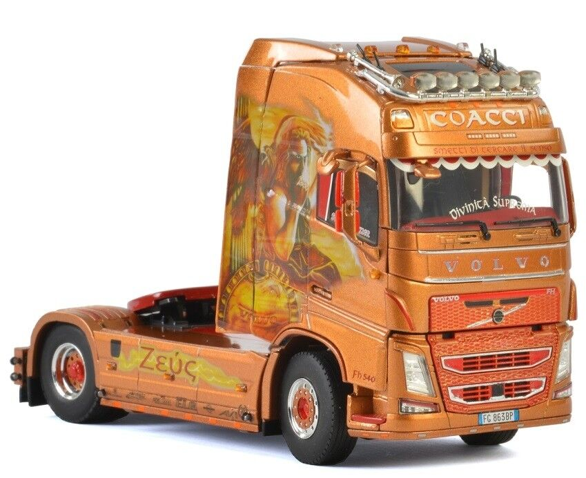 1//50 WSI01-2588 Camion 4x2 solo VOLVO FH4 Sleeper Cab aux couleurs MORTYR