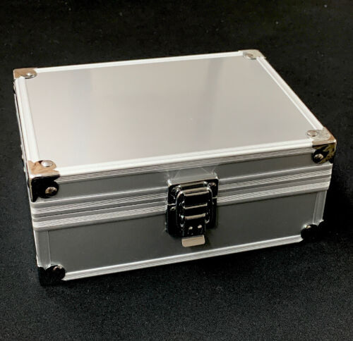 Mini Traveling Cash Safe for Coins Jewerly Silver Container NEW