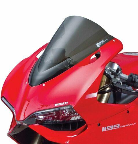Zero Gravity Double Bubble Smoke Windscreen 2012-14 Ducati 1199 Panigale