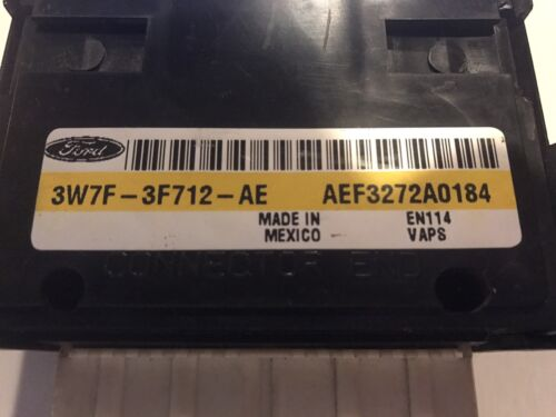 2003-04 FORD CROWN VICTORIA CHASSIS STEERING CONTROL MODULE 3W7F-3F712-AE