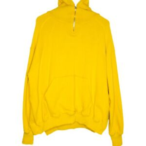 SMFK x Looney Tunes Tweety Oversized Designer Womens Hoodie Size 0 Yellow
