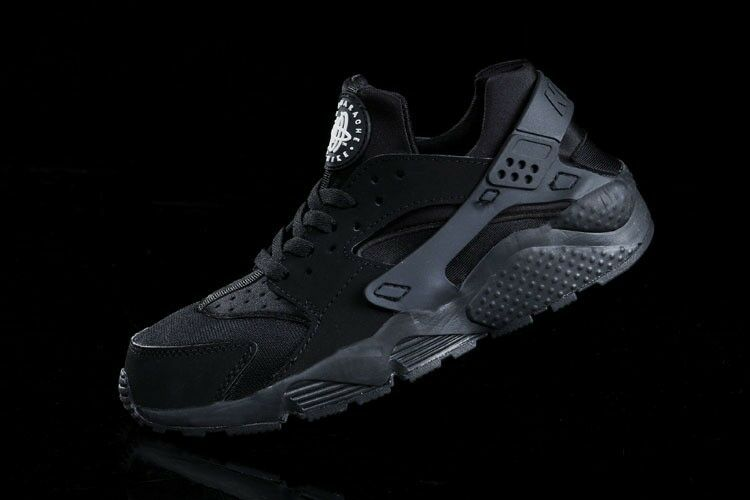 NEW NIKE AIR BLACK HUARACHE TRIPLE BLACK AIR BLACKOUT ALL BLACK 318429-003 SIZES 0b86d8