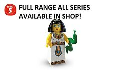 Lego minifigures egyptian queen series 5 (8805) unopened new factory sealed