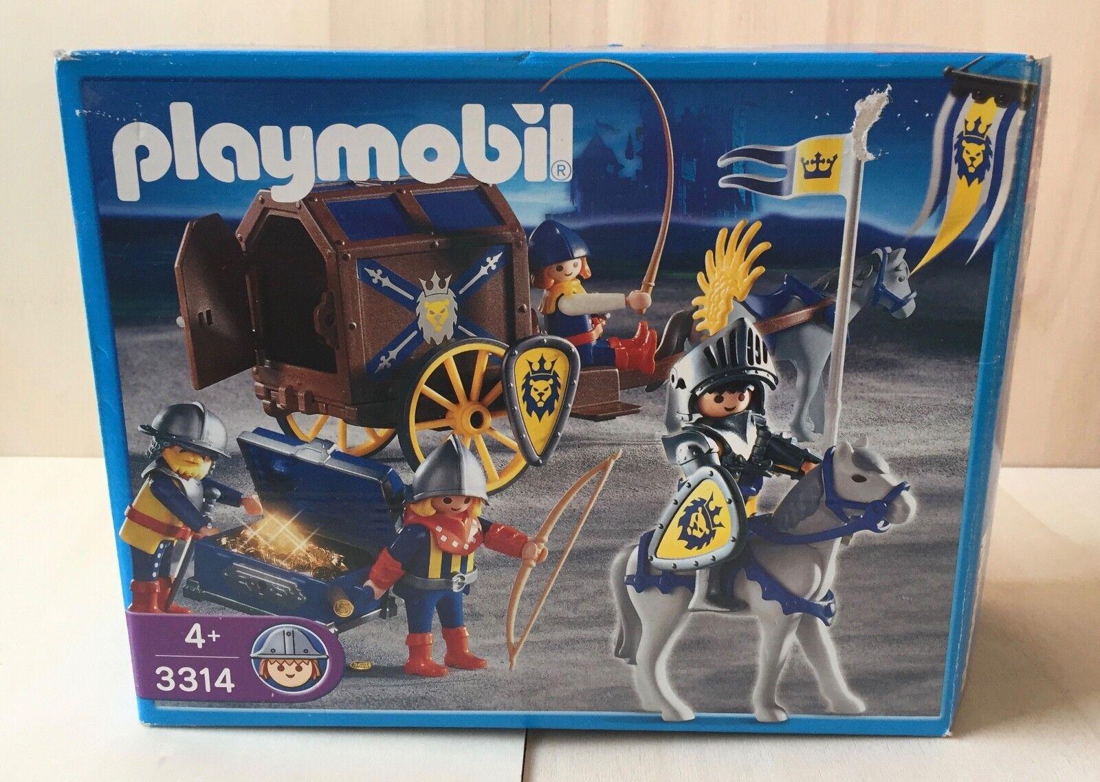 Playmobil 3314 Königsritter Schatztransport  - Gebraucht -
