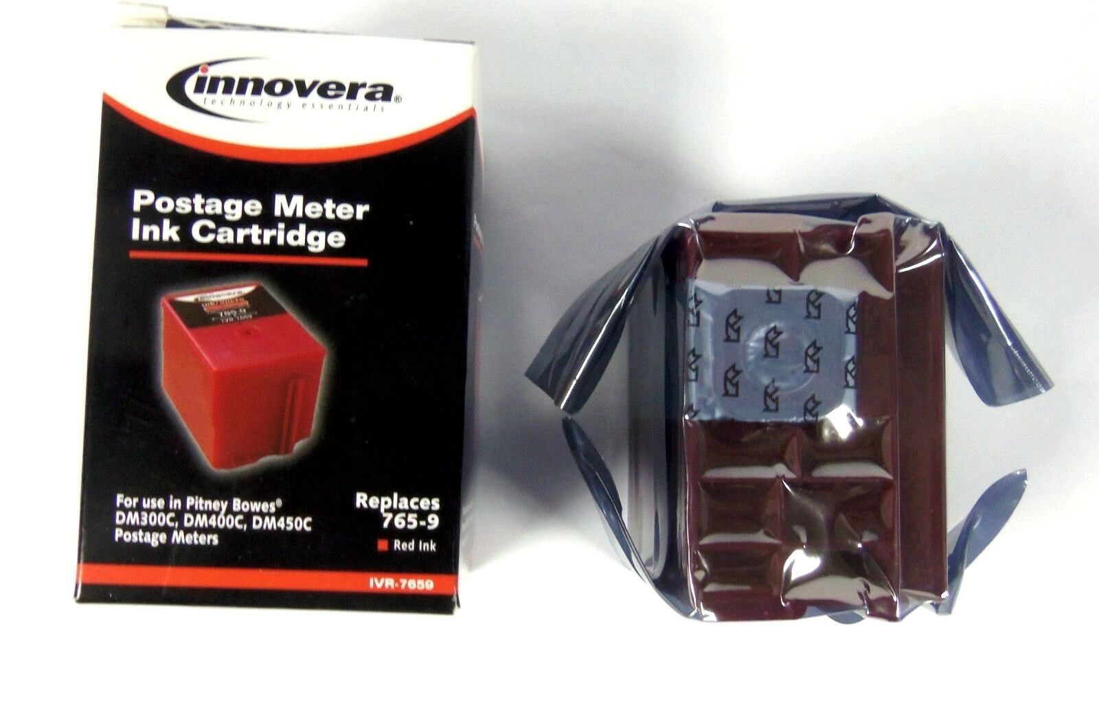 Inno  7659 Pitney  Bowes Postage Meter Ink Cartridge Red Inkjet  your satisfaction is our target
