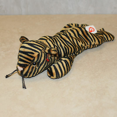 Tiger - Dark Version - NO HANG TAG 2nd gen tush Ty Beanie Baby Stripes