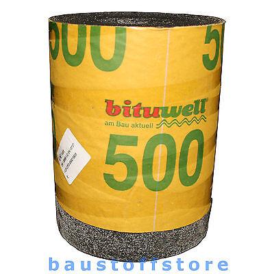 Mauersperrbahn, Dachpappe, Dachbahn, Dach- Und Dichtungsbahn, R 500 Besandet Warm Und Winddicht