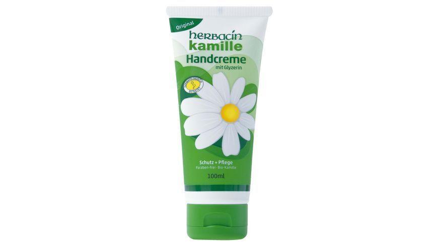 Herbacin Wuta Kamille and Glycerine Hand Cream (100ml)