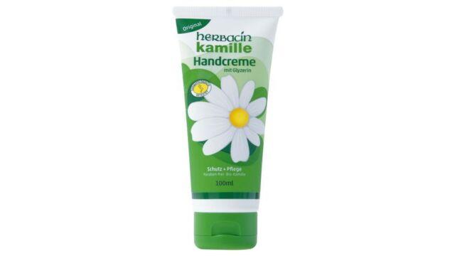Herbacin Wuta Kamille Hand Cream Tube 100 ml Pack of 4
