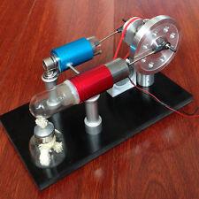 Powerful Hot Air Stirling Engine Model Power Generator Physics Education Engine