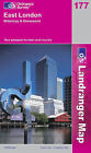 East London, Billericay and Gravesend by Ordnance Survey (Sheet map, folded, 2004)