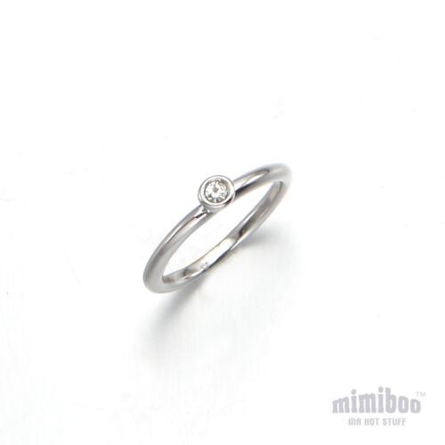 Lunette un cristal Accent sur le Midi Tip Top Of Finger Above The Knuckle Ring